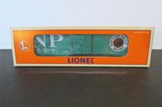 New? Lionel 6-19284 Northern Pacific 6464 Boxcar