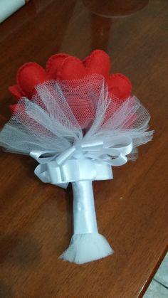 Bouquet de coração...