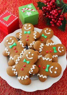 chewy-gingerbread-man-cookies-happy-christmas-new-year-party-snack-recipe