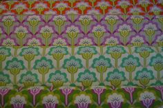 Pop blossom/ True colors/ Heather Bailey/ Cotton Fabric/ Free spirit fabrics/ Quilting fabric/ Fabric by the yard by HomemadeSunFabrics on Etsy