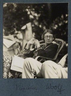 Virginia Woolf by Lady Ottoline Morrell, vintage snapshot print, June 1926 © National Portrait Gallery, London. Essayist, Playwright, Anita Berber, Vita Sackville West, Bloomsbury Group, Writers And Poets, People Of Interest, Book Writer, National Portrait Gallery