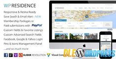 WP Residence v1.11.2  Real Estate WordPress Theme Free at DLEWordPRess