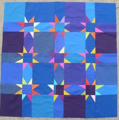 Quilt Sashing Stars | stars in sashing | Little Red Hen | Quilts | Pinterest