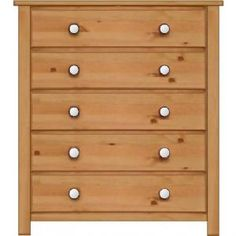 Manhattan Shaker 5 Drawer Wide Chest