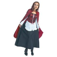Costumes Red Riding Hood Deluxe Adult Halloween Costume One-Size - 1 ea