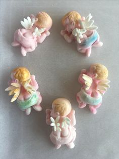angel baby cake toppers