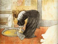 Toulouse-Lautrec - Elles-Woman with a Tub: 1896