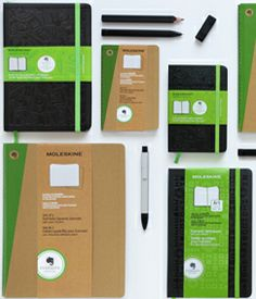 New EVERNOTE journals and Sketchbooks.