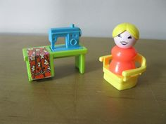 Image result for fisher price sewing lady