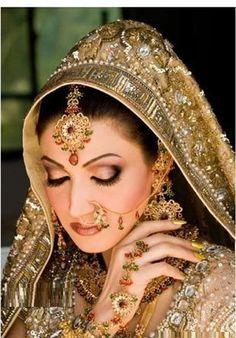 Pakistani Bride... beautiful!!