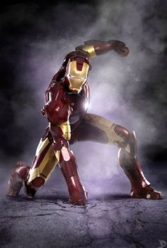 """""""I'm a female. Fe=Iron Male=Man. Therefore I'm Ironman!"""" LOVE IT!!"""