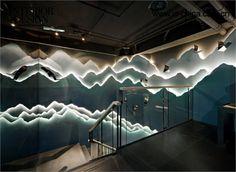 Scenography we dig Interior Walls, Interior Lighting, Lighting Design, Interior Design, Chinese Interior, Japanese Interior, Design Visual, Design Museum, Booth Design
