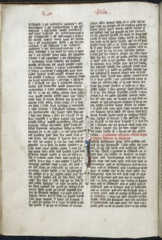 Opening page of Alfred the Great's will