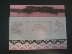 Birthday Card by purekaos26 - Cards and Paper Crafts at Splitcoaststampers