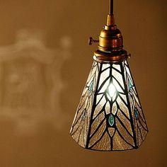 Pendant Light Stained Glass | STAINED GLASS PENDANT LIGHT TEARS (ステンド グラス ペン ...