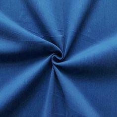 Tolles #royalblau als Cordstoff für kreative Nähprojekte