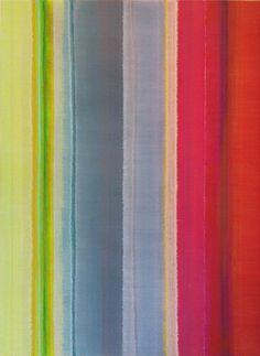 Vertical Stripes Eighteen, 2014 acrylic on cotton canvas121.5 x 91 cm #karlwiebke #abstract #art #stripes #decor #interior #liverpoolstreetgallery