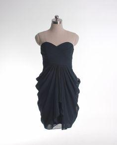 87 A-line empire waist chiffon dress for bridesmaid