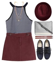 """TYF20K!"" by tmizzle ❤ liked on Polyvore featuring Marc by Marc Jacobs, A.P.C., LACAMBRA, Redopin, CARGO, Ettika and vintage"