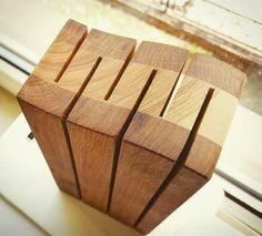 a knife block