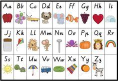 Alphabet Chart Freebie