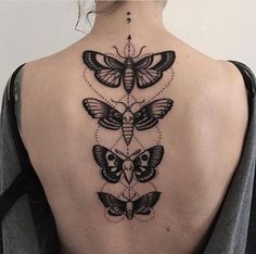 Love this moth / butterfly tattoo x