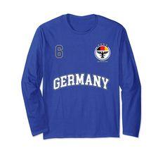 Germany World Cup Olympics German Pride Stripe Crest Flag Mens Hoodie Sweatshirt
