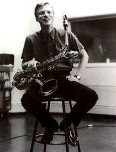 "Gerry Mulligan   Gerald Joseph ""Gerry"" Mulligan / April 6, 1927 – January 20, 1996 - American jazz saxophonist, clarinetist, composer and arranger"