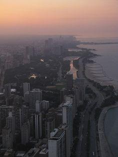 Chicago lakeshore