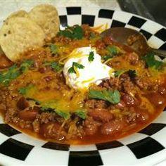 Chef John's Turkey Chili  Allrecipes.com