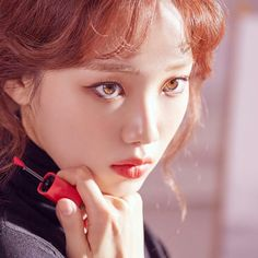 something special ♡ Korean Actresses, Korean Actors, Actors & Actresses, Lee Sung Kyung Photoshoot, Korean Beauty, Asian Beauty, Kim Book, Weightlifting Fairy Kim Bok Joo, Joo Hyuk