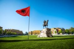 Skanderbeg Square, Tirana: Not everyone's idea of a spring break, the Albanian capital will surprise you with its charm, says Mark Hillsdon
