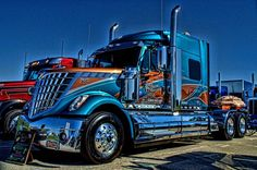 2013 International Semi Truck Southern Pride Photograph