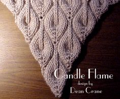 Candle Flame Shawl (free pattern)