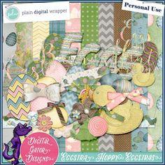 Eggstra Hoppy Eggstras (Add On) by Digital Gator Designs