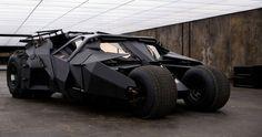 Batmobile: trilogía Nolan, Batman Begins (2005), El Caballero Oscuro (2008) y El Caballero Oscuro, La Leyenda Renace (2012).