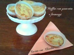 Muffin con pancetta e formaggi