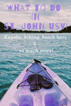 All the best things to do in St. John, USVI for all interests. It may be a small island, but there is plenty to do in St. John, from hikes to kayaking to shopping to beach bars. It is impossible to get bored on this island! Virgin Islands Vacation, Where Is Bora Bora, Johns Island, Caribbean Vacations, Philippines Travel, St Thomas, Culture Travel, Island Life, Oh The Places You'll Go