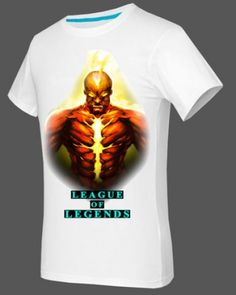 League of Legends XXXL mens tshirt Brand printing short sleeve for summer-