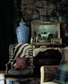 Eclectic opulence: The world of Ralph Lauren for Fall '16