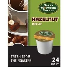 Green Mountain Coffee Hazelnut Decaf, K-Cup Portion Pack for Keurig K-Cup Brewers (Pack of 48) - http://teacoffeestore.com/green-mountain-coffee-hazelnut-decaf-k-cup-portion-pack-for-keurig-k-cup-brewers-pack-of-48/