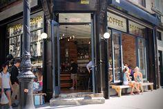 Irving Farm Coffee Roasters - Orchard St - Extérieur du café