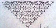 Delicadezas en crochet Gabriela: Una delicadeza de chal