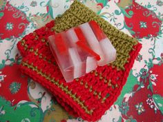 Cotton Christmas Cloth by VickieHowell, via Flickr