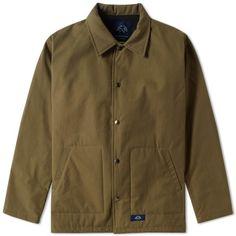 Bleu de Paname Coach Jacket (Khaki)