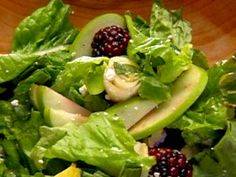 Garden Salad with Apple Cider Vinaigrette from CookingChannelTV.com