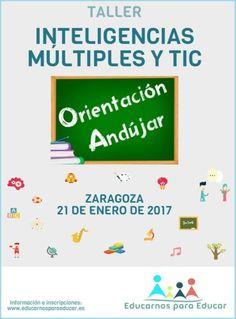 CURSO-TALLER INTELIGENCIAS MÚLTIPLES Y TIC ZARAGOZA 21 DE ENERO.