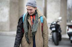 Paris Fashion Week Fall/Winter 2013 Street Style