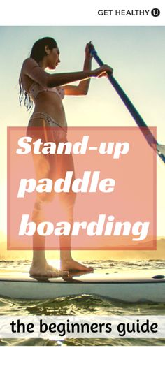 All you need is a calm body of water, a little bit of gear, and some basic technique. Our Beginner's Guide To Stand-Up Paddle Boarding has that all covered and then some! Sup Boards, Boot Camp, Best Inflatable Paddle Board, Sup Girl, Sup Stand Up Paddle, Sup Yoga, Standup Paddle Board, Little Bit, Planks