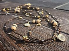 """The NEW @premierdesignsinc """"Vintage Vibe"""" necklace is perfectly light and…"""